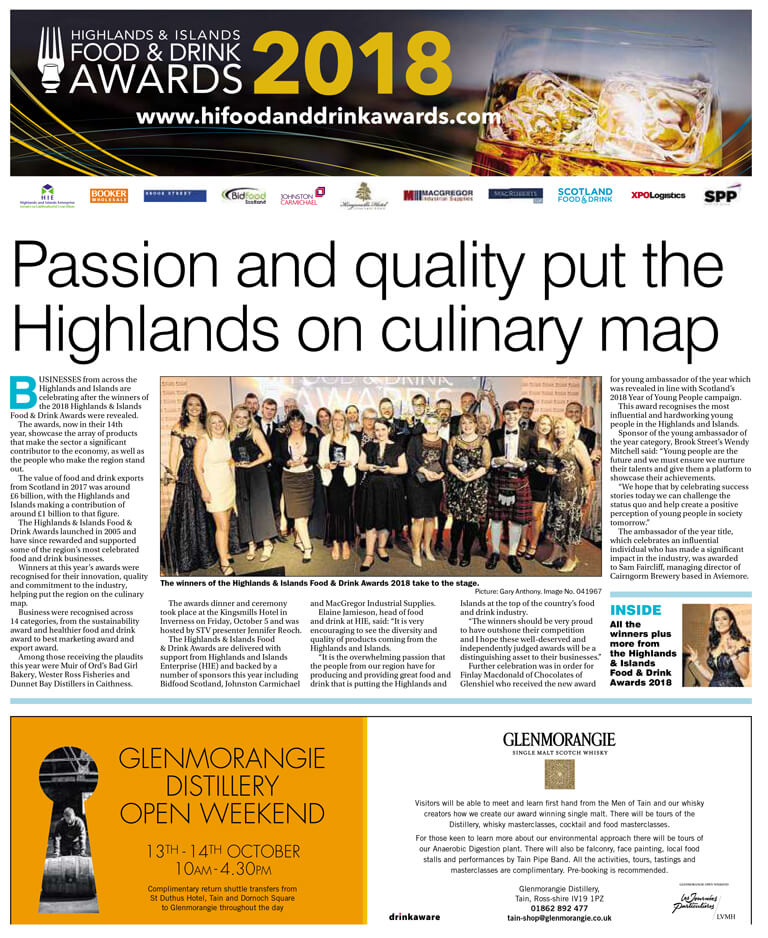 Highlands & Island Food and Drink Awards