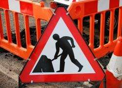 Roadworks have started on the A9 at Drumochter
