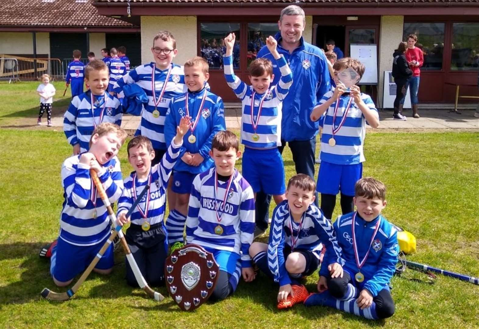Another shinty win for Newtonmore