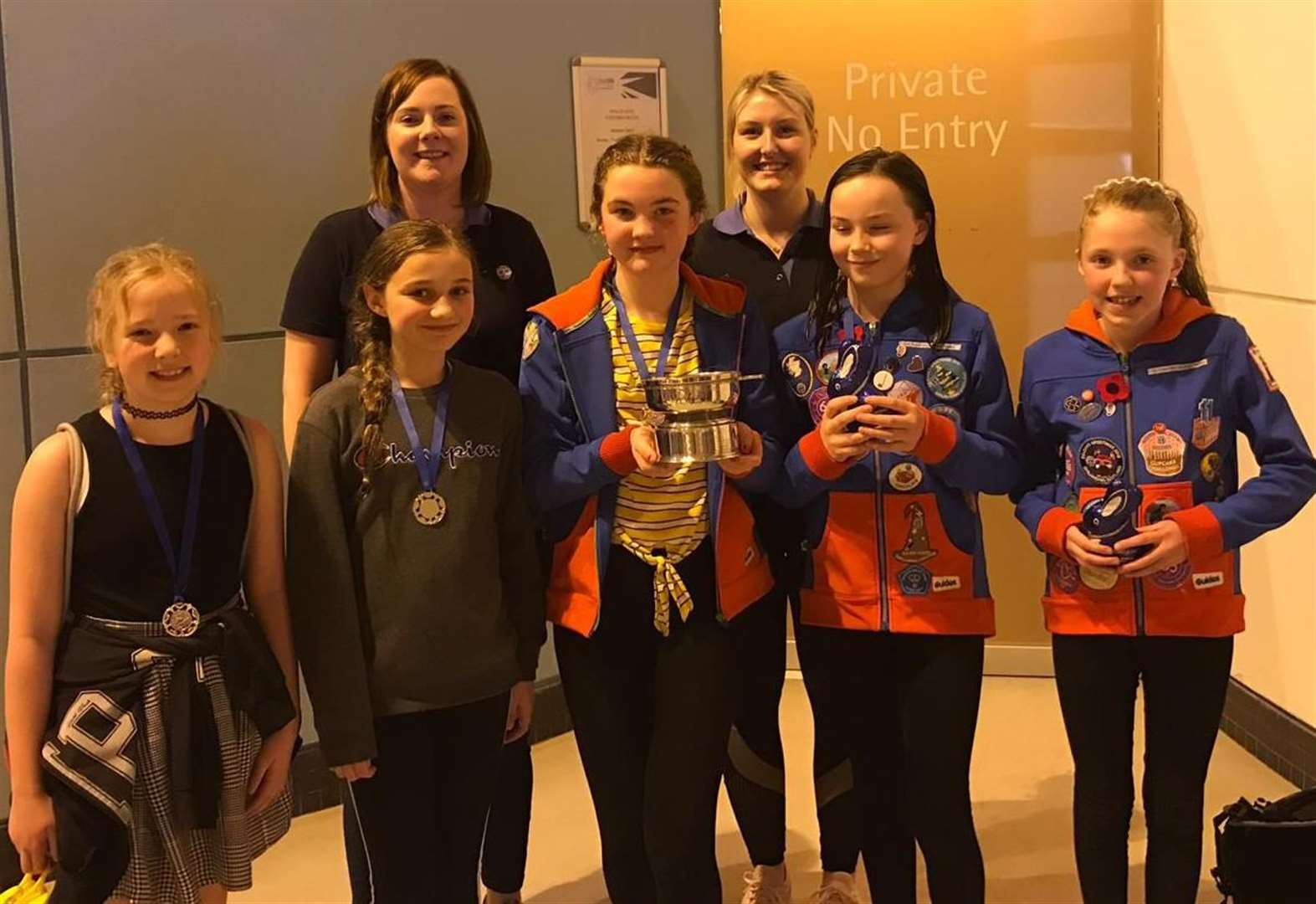 Guides make a splash for the second year at swimming gala