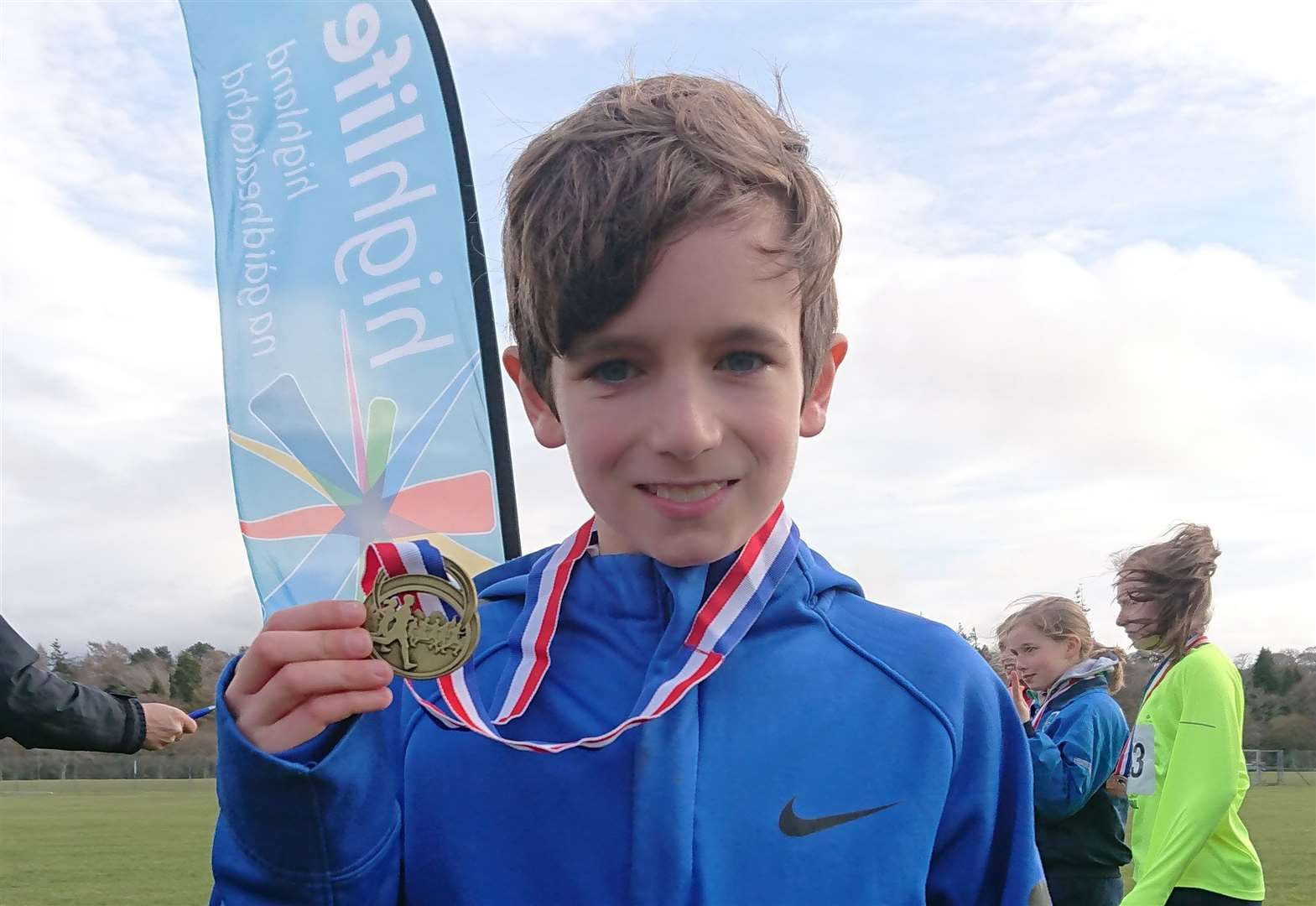 Young runner tastes success at Highland schools cross-country event