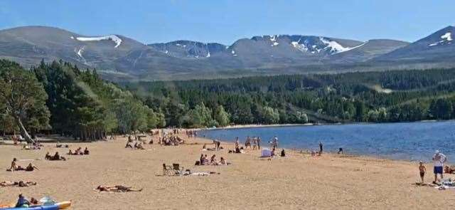 Loch Morlich and the surrounding area has been plagued by problems since lockdown was eased but the worst occurred at the weekend at nights.