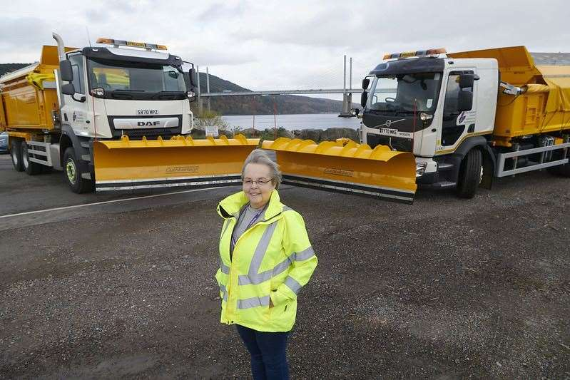New gritters were brought in for this winter, confirmed Councillor Trish Robertson