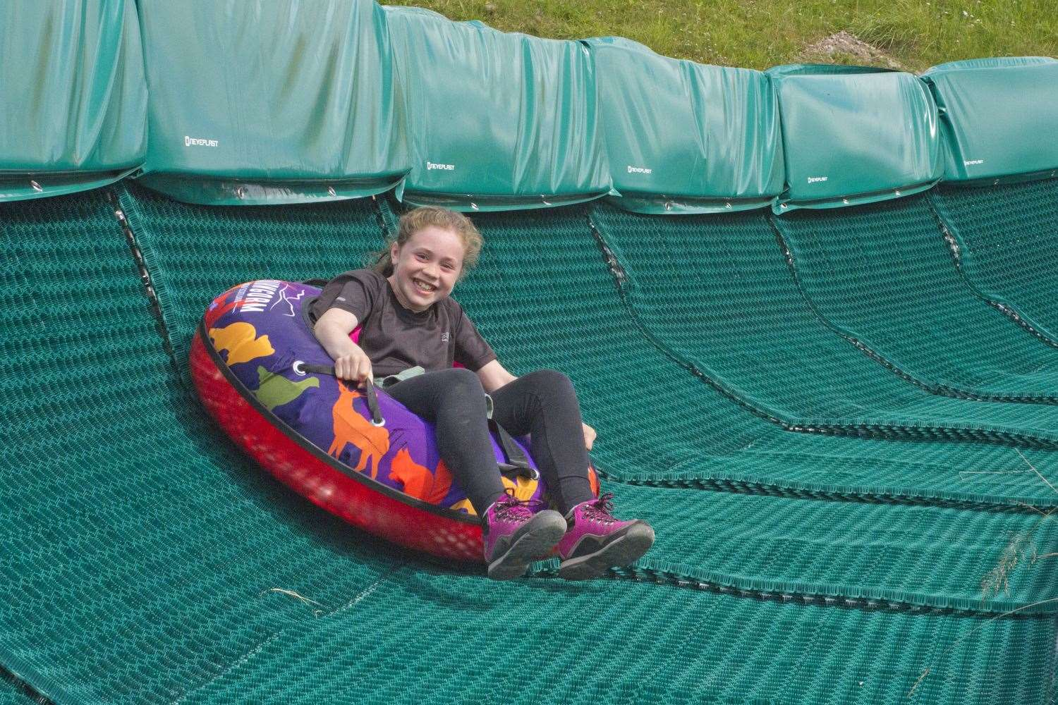 Anna Hutt was one of the very first people to try out the new attraction at Cairngorm Mountain.